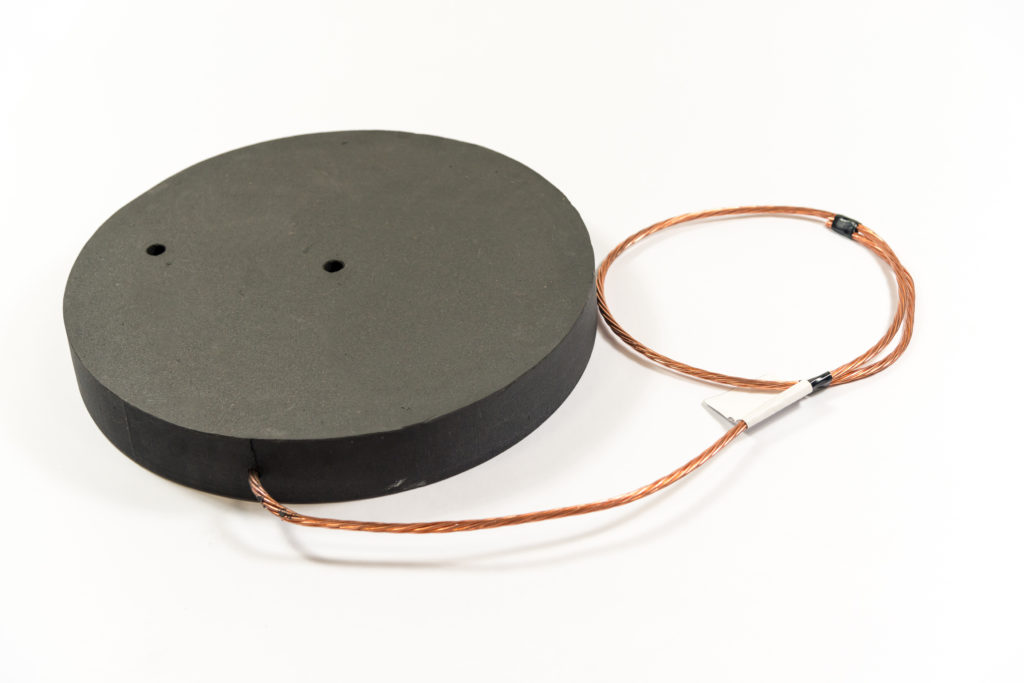 ConduDisc - earthing without rods conductive polymer in disc format